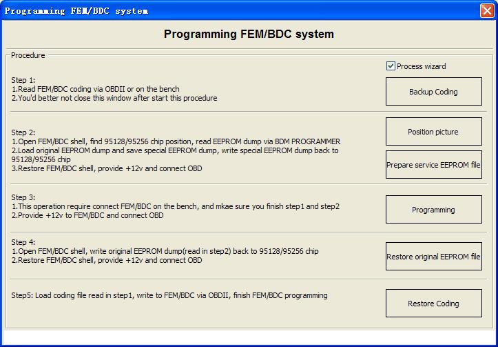VVDI2 FEM BDC Programming system