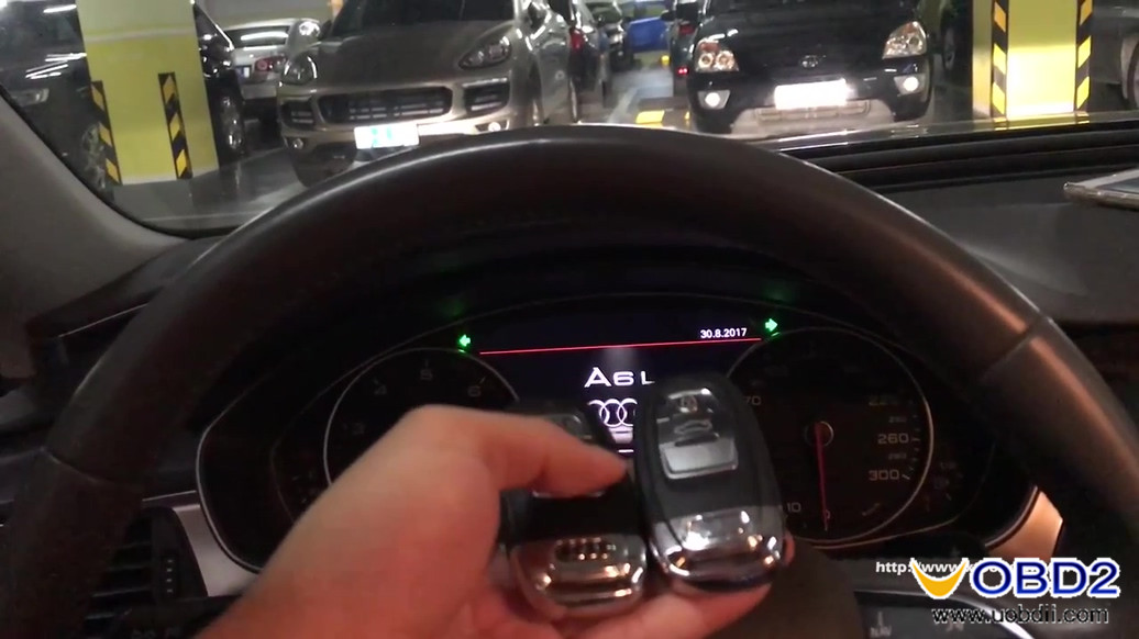 Audi A6L 2013 5th immo keys are working