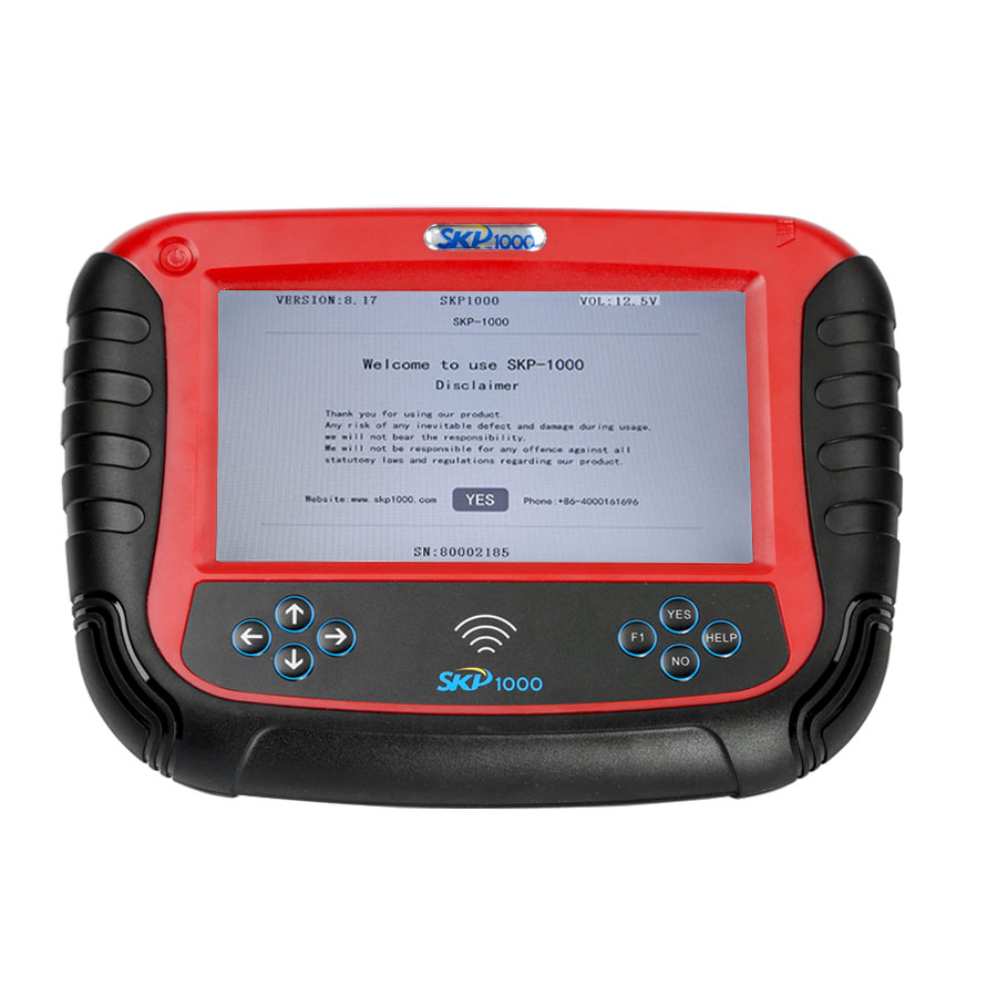 SKP1000 V8 19 Tablet Auto Key Programmer With Special Functions for All  Locksmiths Perfectly Replace CI600 Plus and SKP900