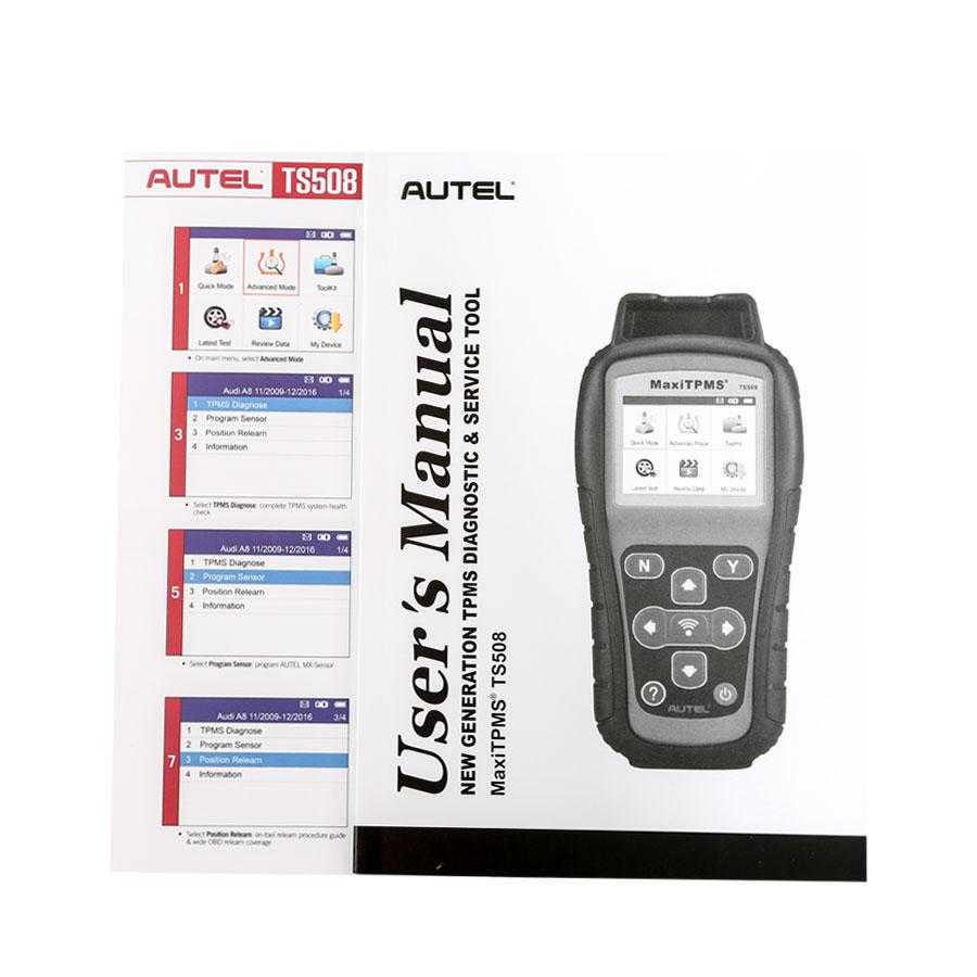 Original Autel MaxiTPMS TS508 TPMS Service Tool Update