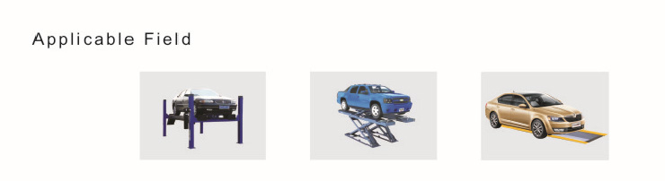 Original LAUNCH X831S+ X831Plus 3D 4-Post Car Alignment Lifts Platform