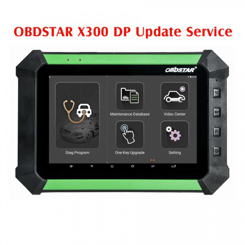 OBDSTAR X300 DP One Year Update Service/X300 DP Standard Configuration Update to Full Version Service