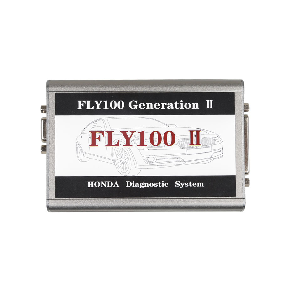 FLY 100 Generation 2 (FLY100 G2) V3 102 Honda Scanner Full Version  Diagnosis and Key Programming
