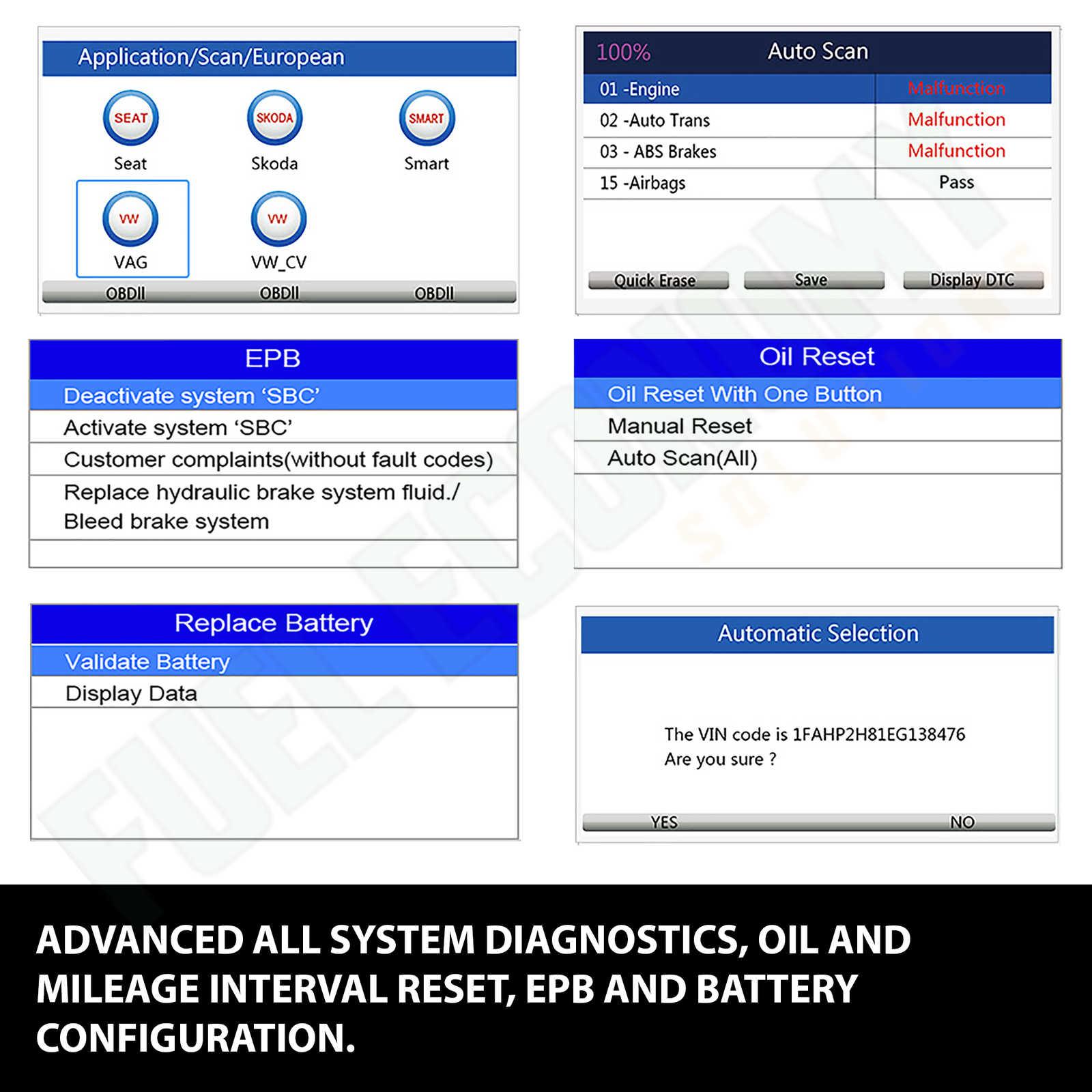 VIDENT iAuto700 Professional Car Full System Diagnostic Tool