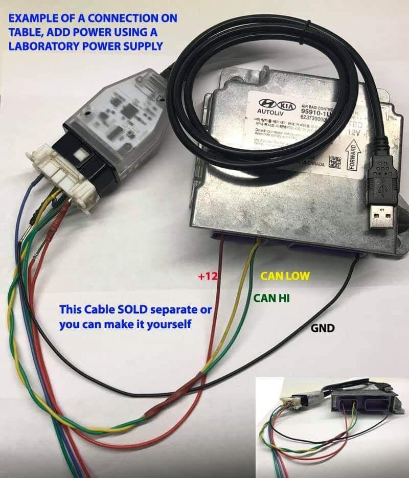 Diatronik SRS+DASH+CALC+EPS OBD Tool andGPROG LITE SL Adapter