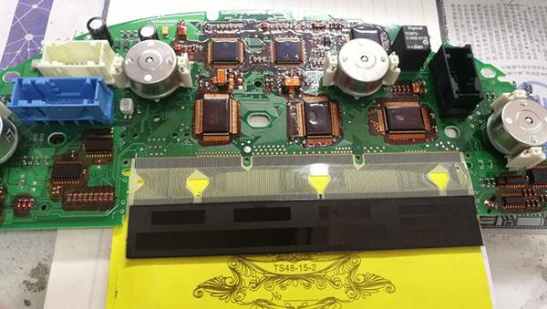 BMW E38 E39 E53 X5 Dashboard Instrument LCD Display Pixel Repair