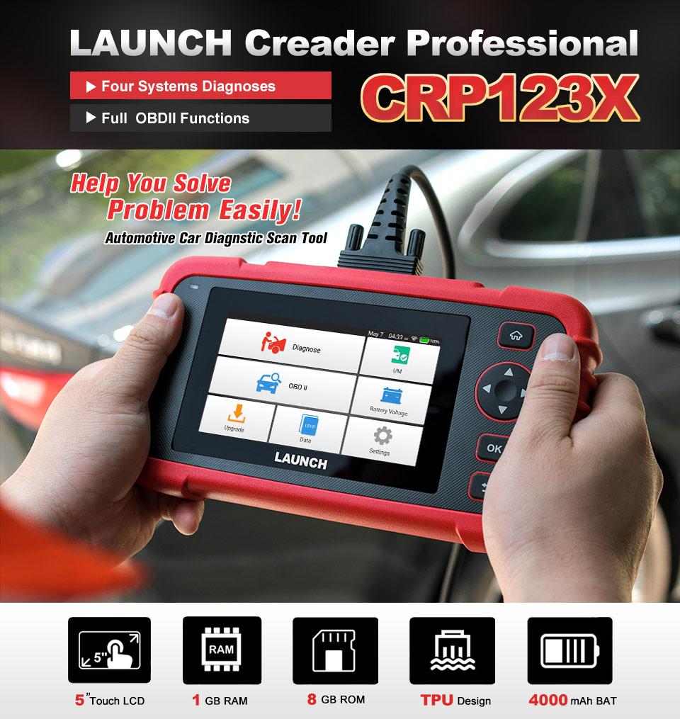LAUNCH CRP123X OBD2 Code Reader