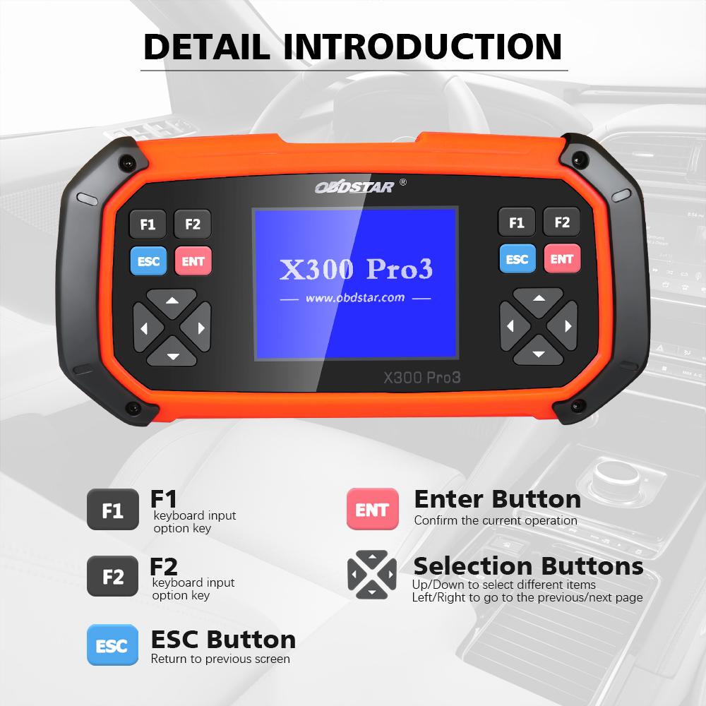 [7% Off 464] US/UK/RU Ship OBDSTAR X300 PRO3 X-300 Key Master with  Immobiliser + Odometer Adjustment +EEPROM/PIC+OBDII+Toyota G & H Chip All  Keys Lost