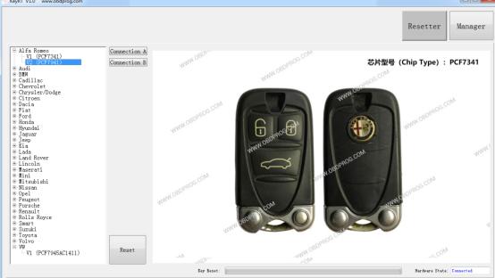 OBDSTAR Key RT Key Renew Tool