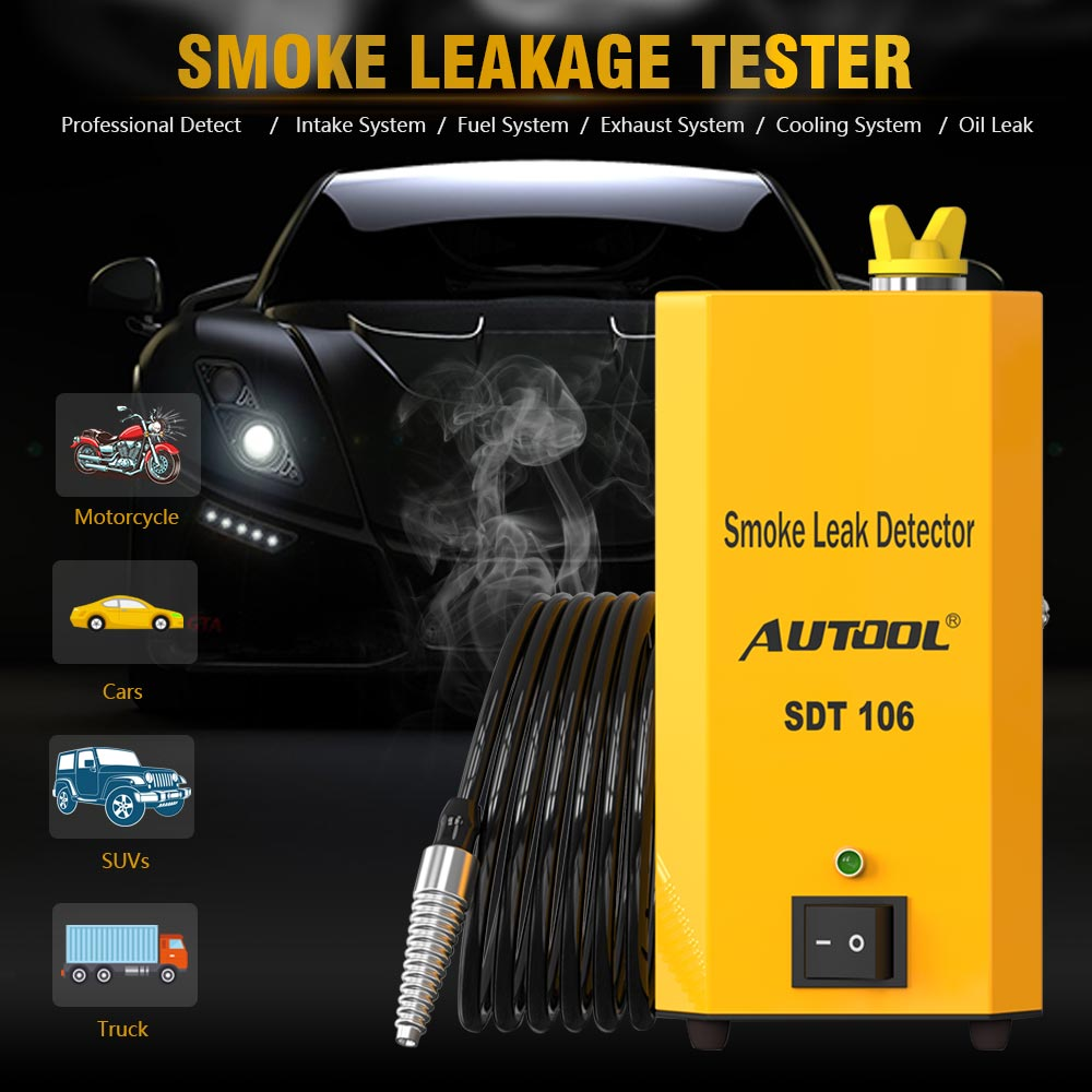 AUTOOL SDT-106 Diagnostic Leak Detector Smoke Leakage Tester