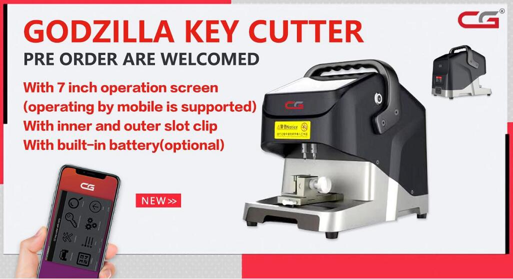 CG Godzilla Automotive Key Cutting Machine