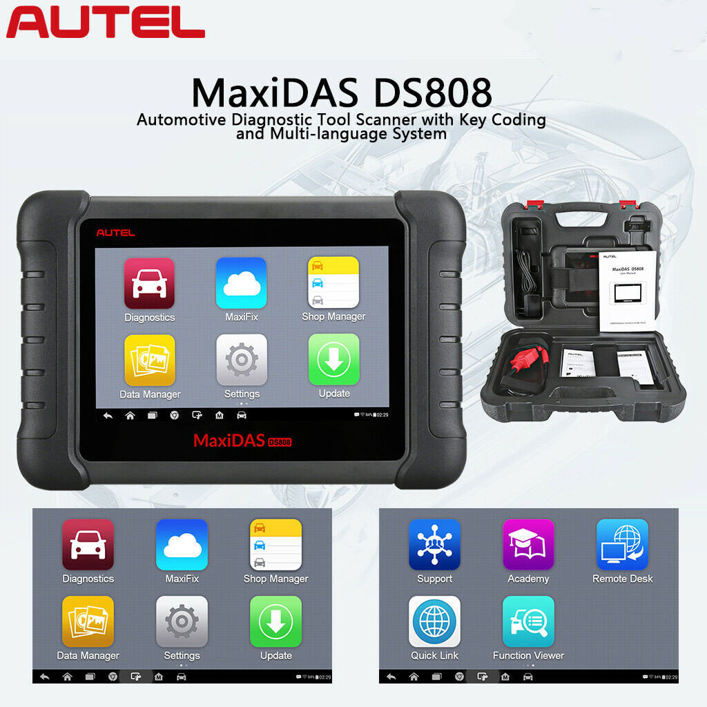 AUTEL MaxiDAS DS808 Full Set