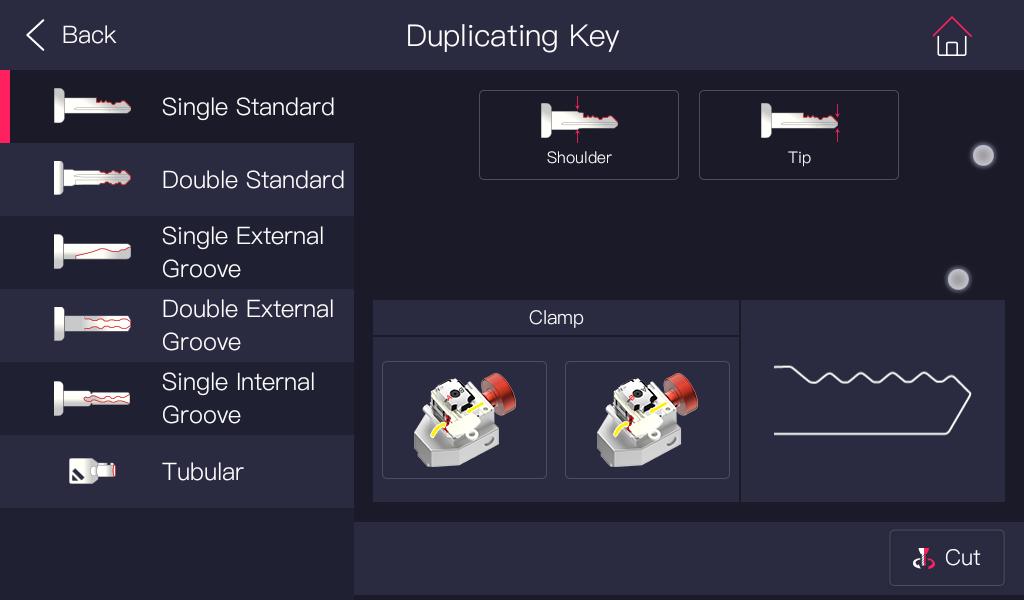 Alpha Automatic Key Cutting Machine