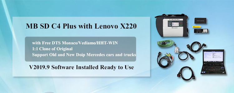 V2019.9 MB SD C4 Plus Support Doip with Lenove X220 Laptop