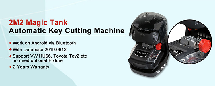 2M2 Magic Tank Automatic Key Cutting Machine