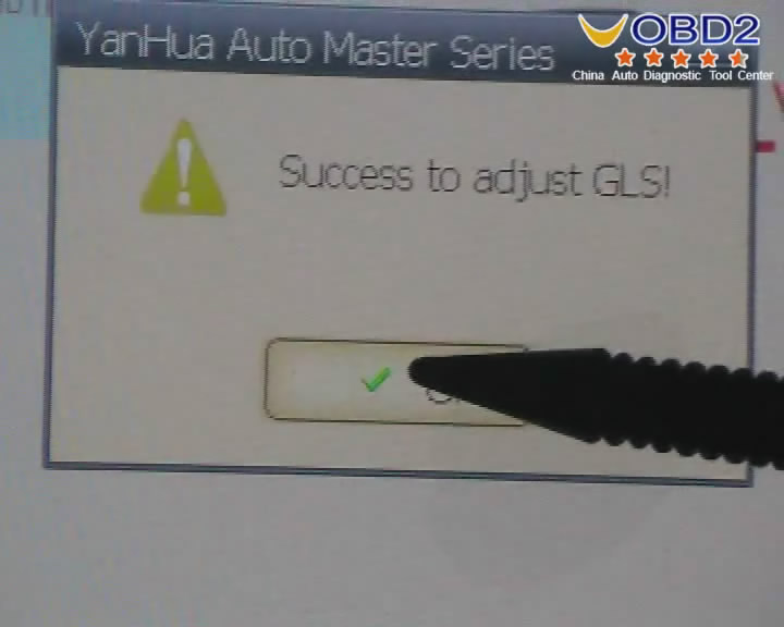 Digimaster 3 Success Adjust GLS