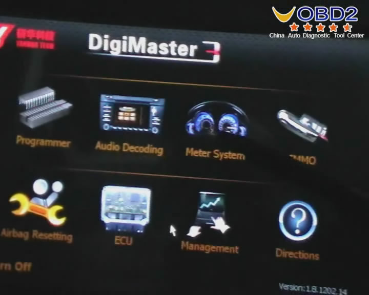 Digimaster 3 Functions