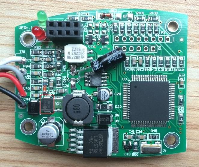 Truck Adblue Emulator For Volvo PCB Board
