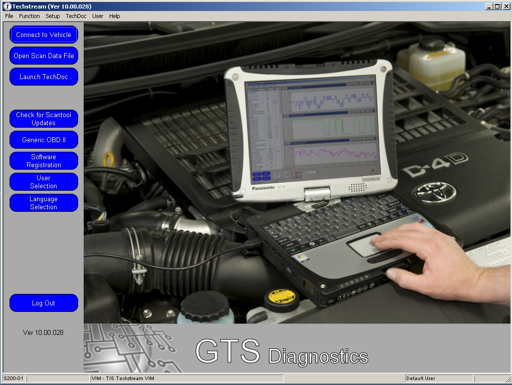 Toyota TIS Techstream V10.00.028 software Free Download