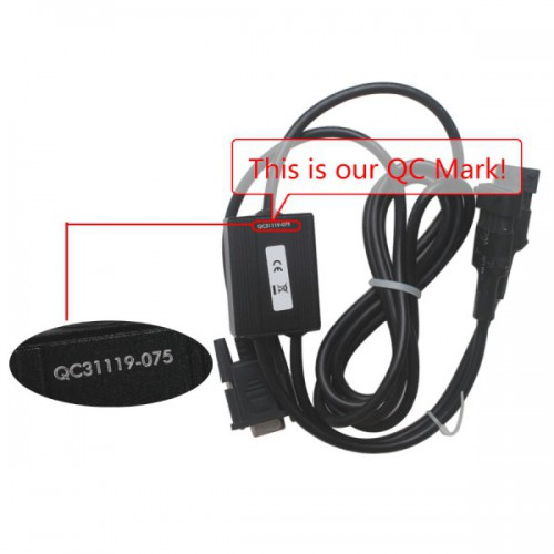 Linde Doctor Diagnostic Cable With Software V2014 (6Pin and 4Pin Connectors)