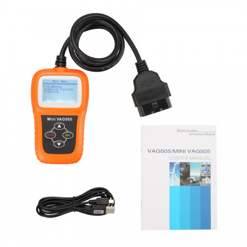 [Ship from US] Mini V-A-G505 Super Professional VW/AUDI Scanner