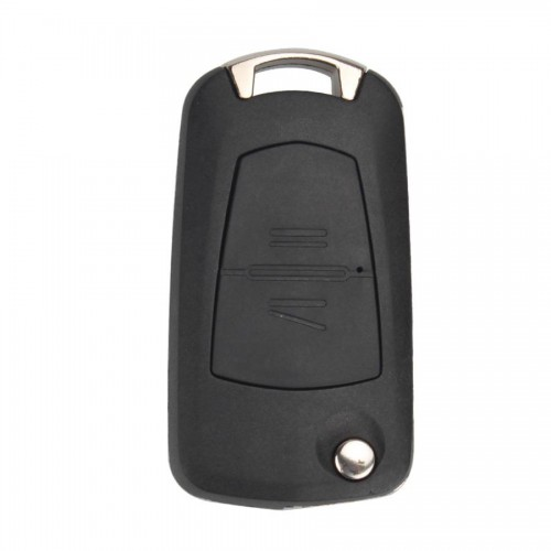 Modified Flip Remote Key Shell 2 Button (HU100A) for Opel 5pcs/lot