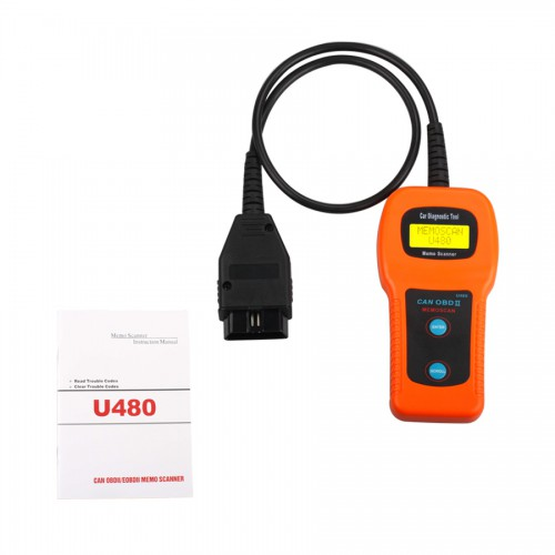 [US Ship No Tax] U480 OBD2 CAN BUS & Engine Code Reader