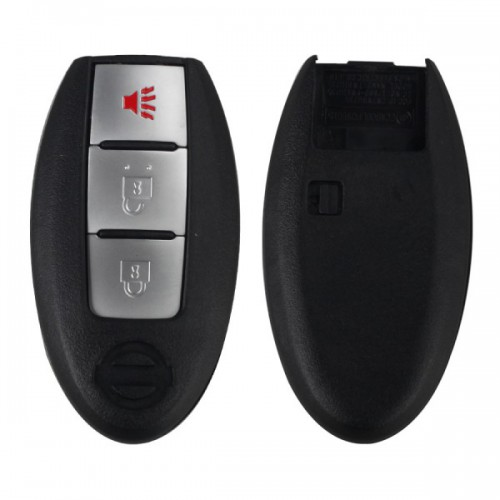 Smart Remote Shell 3 Button for Nissan 5pcs