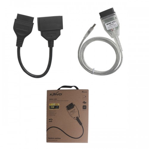 MINI VCI FOR TOYOTA TIS V10.30.029 Diagnostic Communication Protocols With Toyota 22Pin Connector