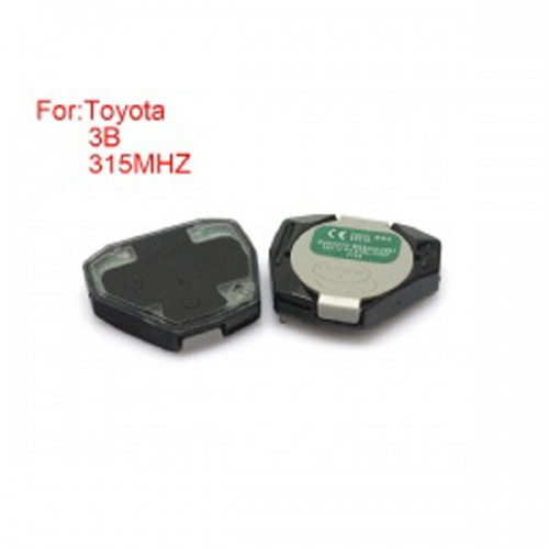 Remote Key 3 Buttons 315MHZ MOROCCO:MR3264/200705018/POS for Toyota