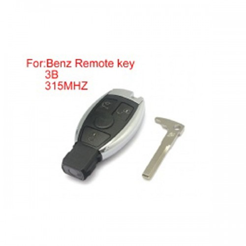 Remote Key Shell 3 Buttons 315mhz for Mercedes-Benz