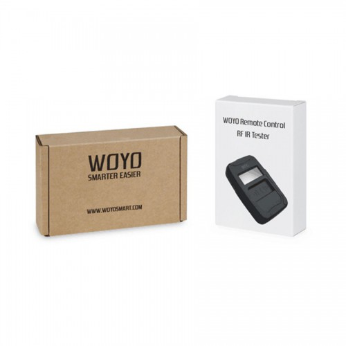 [US/UK Ship] WOYO Remote Control Tester Tools Car IR Infrared (Frequency Range 10-1000MHZ)