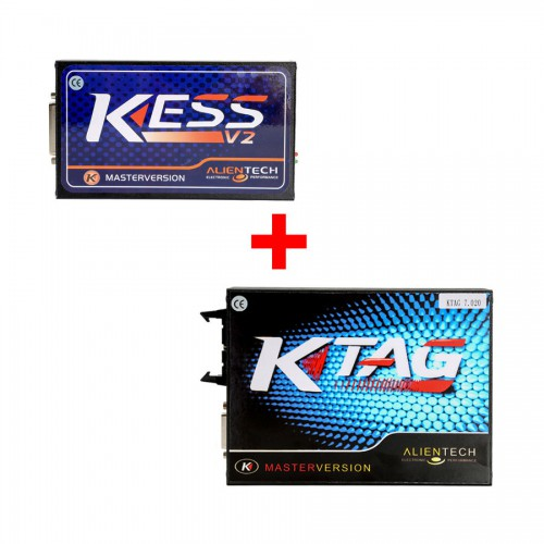 Kess V2 V5.017 Online Version Plus KTAG V2.23 Firmware V7.020 ECU Programming Tool