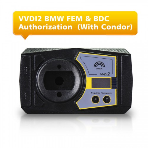 VVDI2 BMW FEM & BDC Functions Authorization Service With Ikeycutter Condor