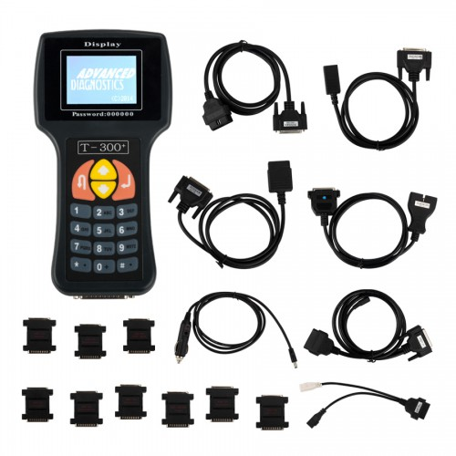 New Arrival V20.3 T300 T300+ Key Programmer English Version Black