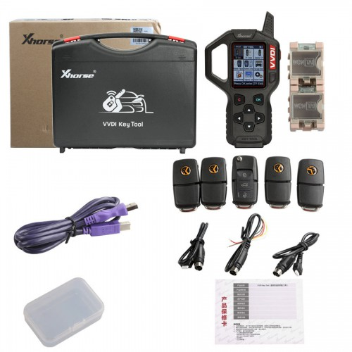Original V2.4.1 Xhorse VVDI Key Tool Remote Key Programmer Specially for America Cars/European Car/Mid-Eastern Cars
