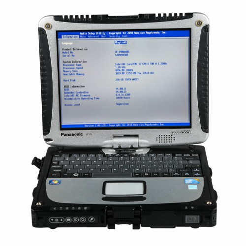 V2021.3 MB SD C5 Connect Compact 5 Star Diagnosis with SSD Plus Panasonic CF19 I5 4GB Laptop Software Installed Ready to Use