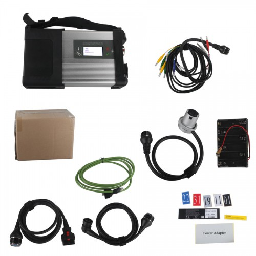 [UK Ship] MB SD C5 SD Connect Compact 5 Star Diagnosis with WIFI for Cars and Trucks Multi-Language without Software HDD