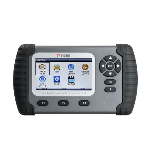 [US Ship] VIDENT iAuto700 Professional Car Full System Diagnostic Tool for Engine Oil Light EPB EPS ABS Airbag Reset Battery Configuration
