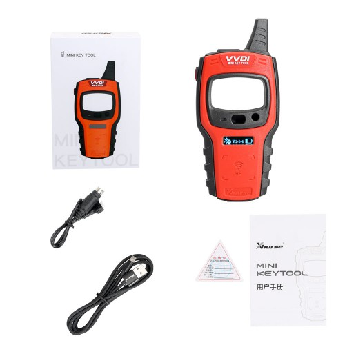 [4% Off] Xhorse VVDI Mini Key Tool Remote Key Programmer Support IOS and Android Global Version Ship from US/UK