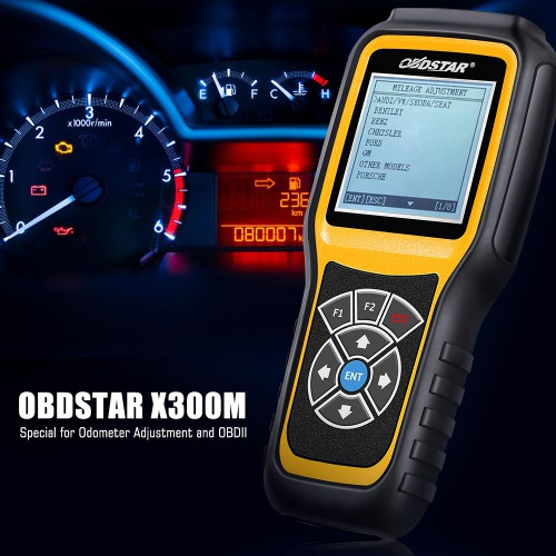 [US/EU Ship] OBDStar X300M Special for Odometer Adjustment and OBDII Support Mercedes Benz & MQB VAG KM Function