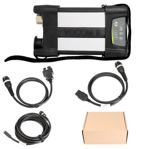 Original Volvo VOCOM II 88894000 with APCI PTT 2.7.25 Tech Tool Excavator Heavy Truck Diagnostic Scanner