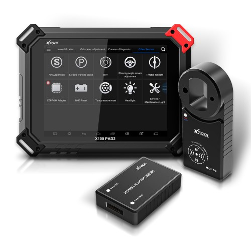 [US/EU Ship] XTOOL X100 PAD2 Pro with KC100 Programmer Full Configuration Support VW 4th & 5th IMMO & Special Functions
