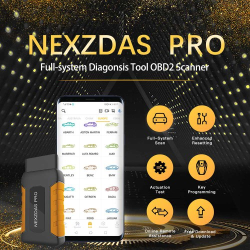 [UK Ship] Humzor NexzDAS Pro Full-system OBD2 Bluetooth Auto Diagnostic Tool with Special Functions