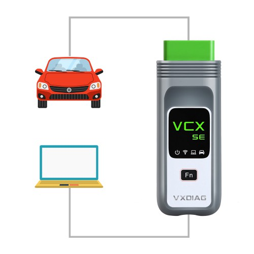 [US/UK/EU Ship] VXDIAG VCX SE Pro Diagnostic Tool with 3 Free Car Software GM/Ford/Mazda/VW/Audi/Honda/Volvo/Toyota/JLR/Subaru