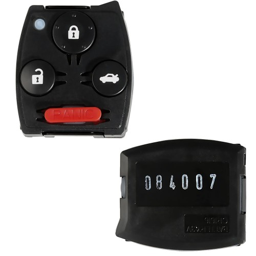 3+1/2+1 Button Remote Set For CRV FCC ID: MLBHLIK-1T