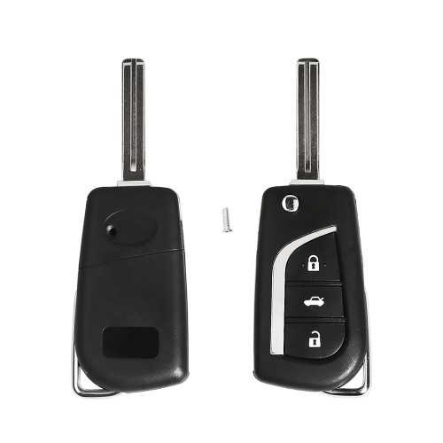 3 Button Flip Key For Toyota 433Mhz