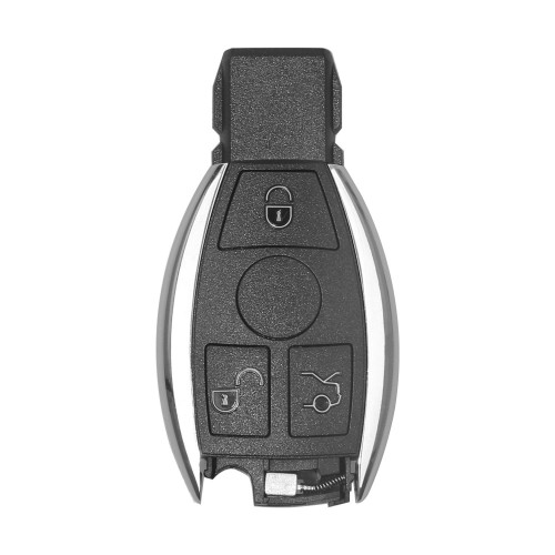 [US Ship] Smart Key Shell 3 Button for Mercedes Benz Assembling with VVDI BE Key Perfectly