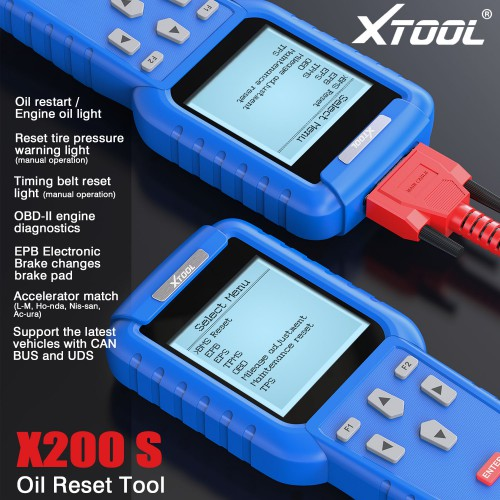XTOOL Oil Reset Tool X-200S X200S Free Shipping by DHL
