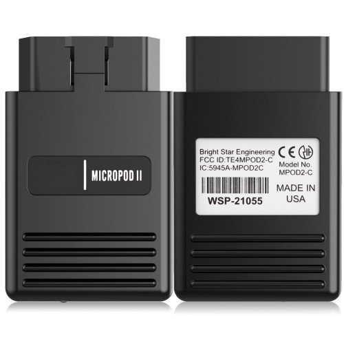 High Quality MicroPod 2 wiTech 17.04.27 for Chrysler Diagnostics and Programming Free Shipping by DHL